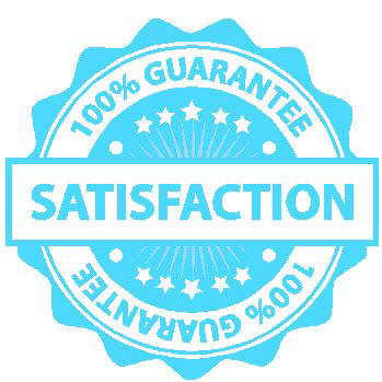 We GUARANTEE your satisfaction!