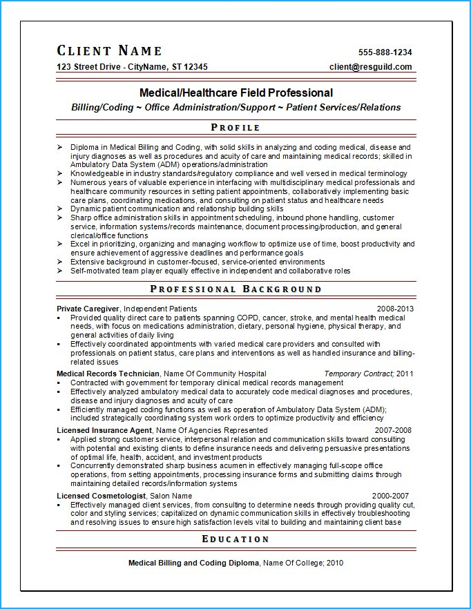 resume writing for nursing jobs hospital administration other medical professions